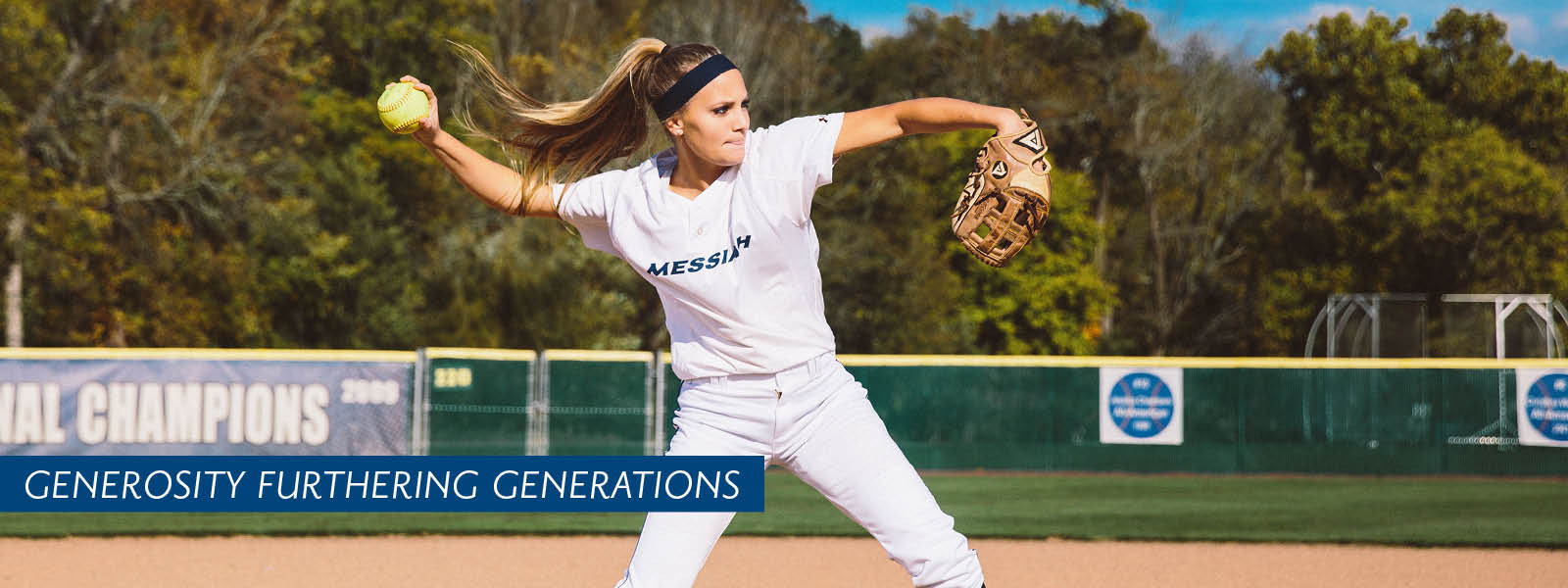 Women's Softball header