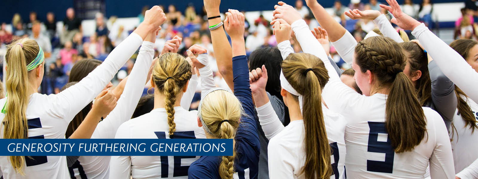 Women's Volleyball header