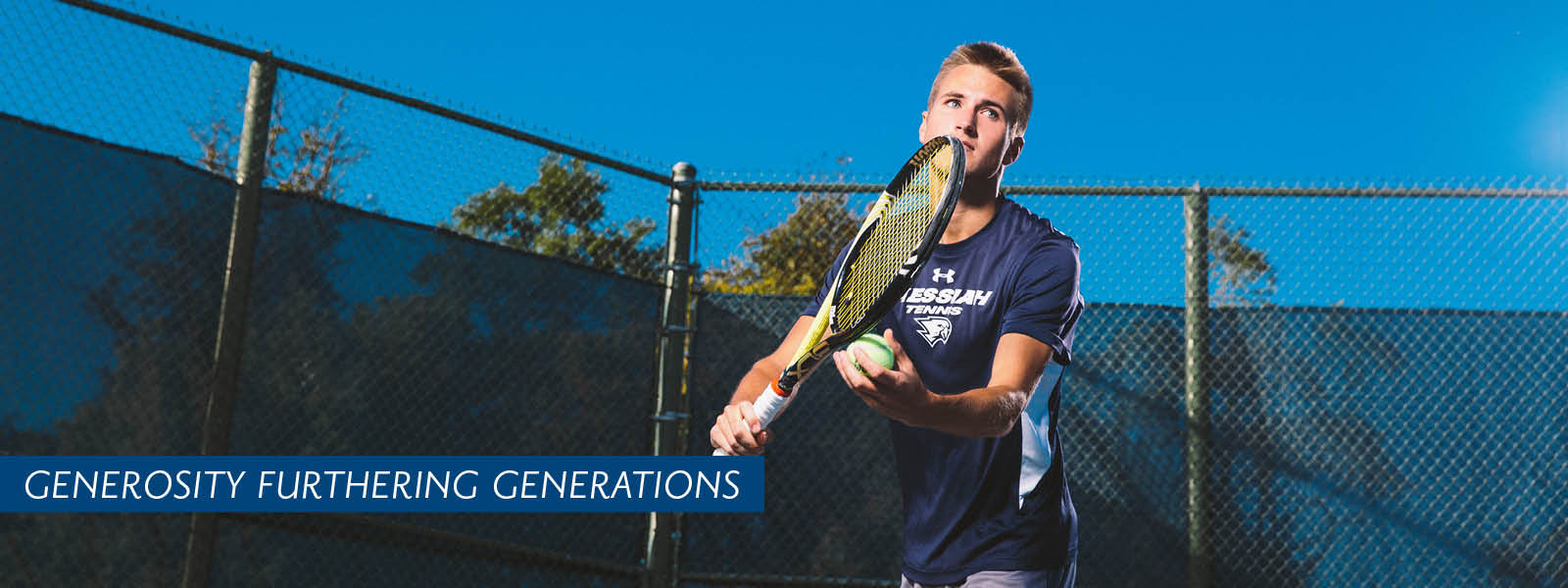 Men's Tennis Team header